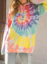 Rainbow Tie Dye Hoodie