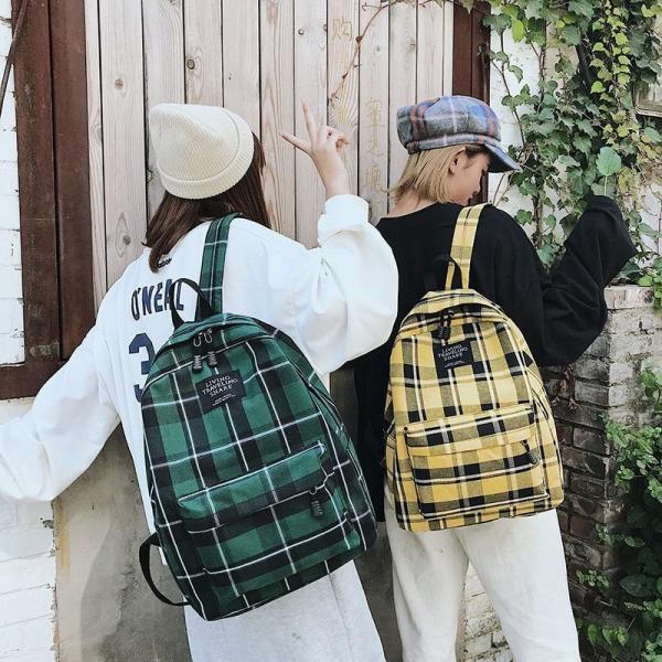 2020 Mode Lässig Wilde Student Schul Jungen und Mädchen mit Der Gleichen Ausflug Reise Rucksack College Rucksack Große Kapazität
