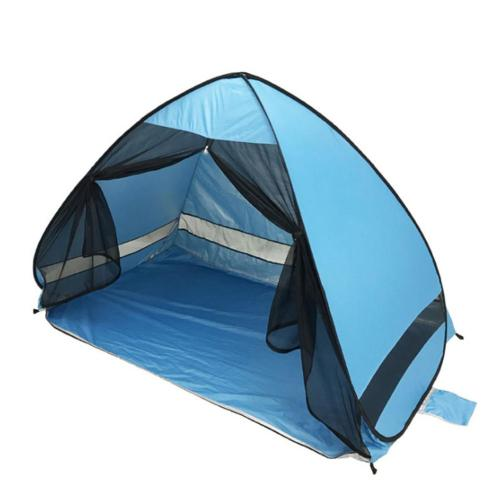 Beach Tent Fully Automatic Opening Pop Up Portable Lightweight UV Protection Sun Shelter Anti-mosquito Tents For Outdoor Camping