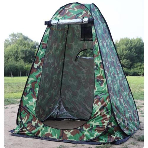 Portable Outdoor Shower Bath Changing Fitting Room Camping Pop-Up Tent Dressing Shelter Beach Privacy Toilet Tent with Bag