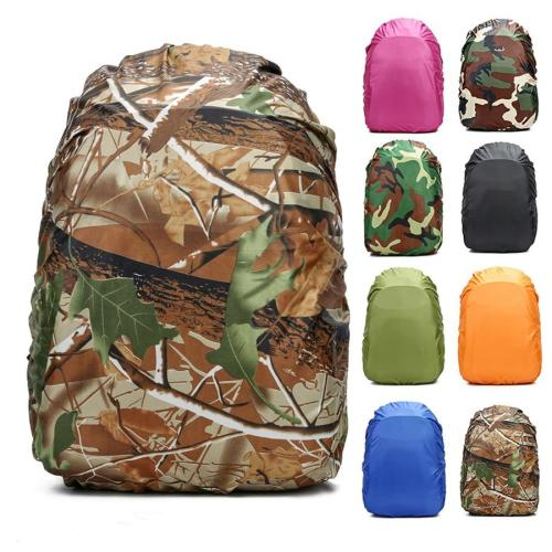 Backpack Rain Cover 60L 50L 40L 30L 25L 20L Waterproof Bag Camo Military Tactical Camping Hiking Bag Folding Nylon Raincoat Suit