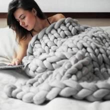 Standard Chunky Knit Blanket