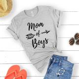 Short Sleeve T-shirt with Letter Print