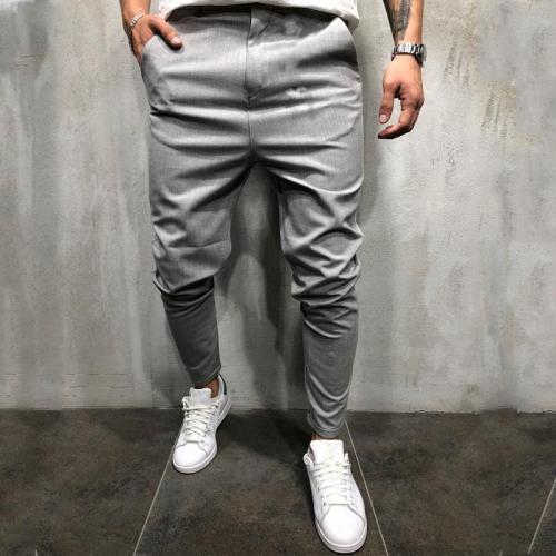 Men's Fashion Simple Pure Colour Casual Pants
