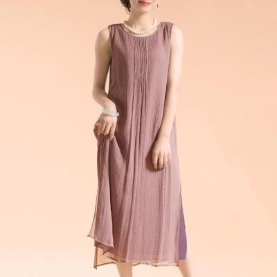Casual Chic Sleeveless Midi Dress