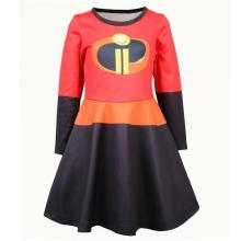 The Incredibles 2 Elastigirl Girls Toddler Dress Cosplay Costume