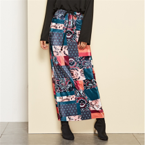 Fashion New Half-Length Split High Waist Bag Hip Skirt