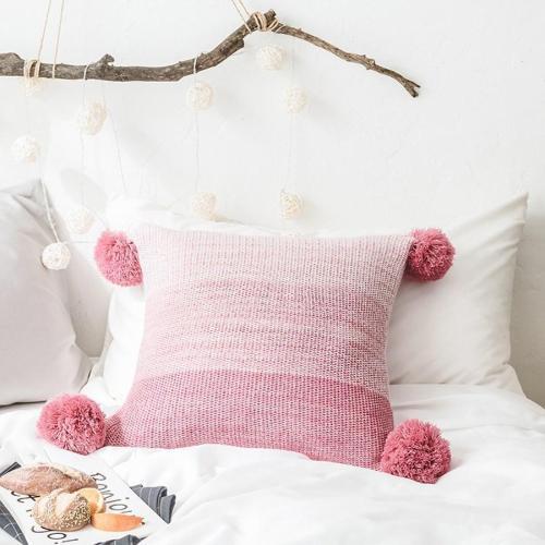 Acrylic Stripe Pillowcase