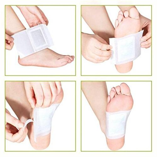 10 Pcs/Pack Detox Foot Patches Pads Weight Loss Slimming Cleansing Herbal Body Health Adhesive Pads Remove Toxin Foot Care TSLM1