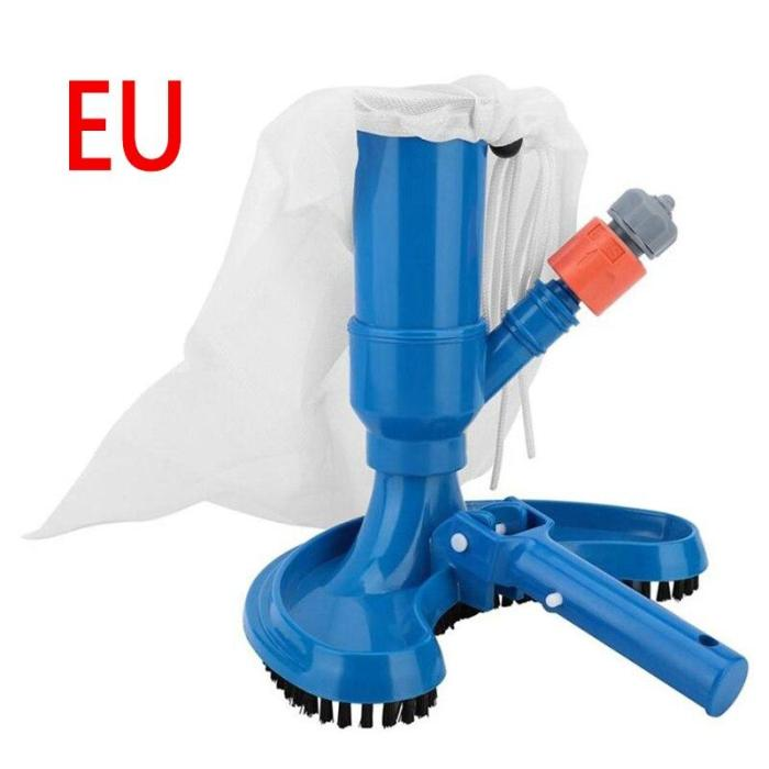 Swimming Pool Suction Vacuum Head Brush Cleaner Floating Objects Cleaning Tools Suction Head Cleaning Net Kit