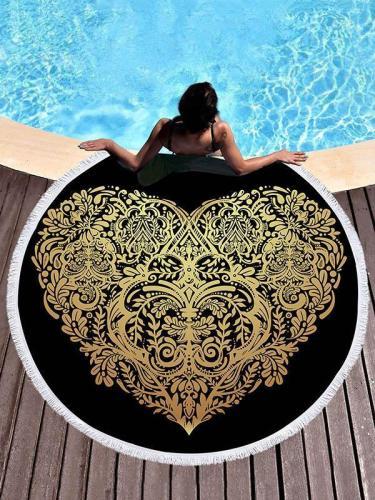 Ultrafine Gold Bronzed Beach Mat