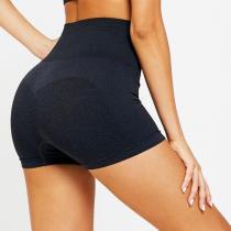 High Waist Seamless Gym Shorts Fitness Yoga Short Scrunch Butt Yoga Shorts Polyester Pink Short Workout Legging
