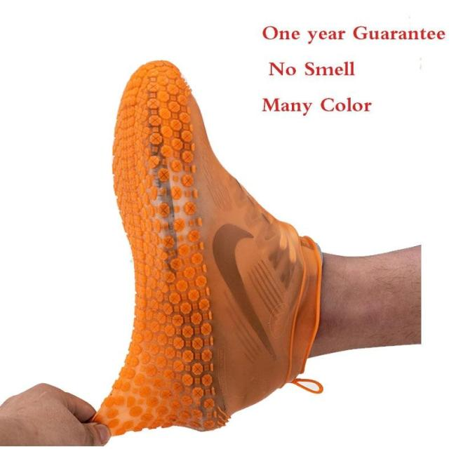 Rain boots waterproof children PVC rubber boots non-slip water shoes cover rainy day for men and women