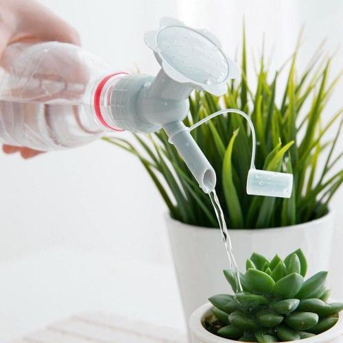 2 In 1 Plastic Sprinkler Nozzle For Flower Watering Can For Flowers Sprinkler Home Garden Flower Plant Water Sprinkler