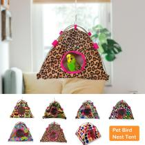 Pet Bird Nest Tent Parrot Hamster Hammock Cage Hut Hanging Bed House Small Pets Sleeping Bag