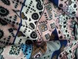 Fashion Ethnic Scarf Women Shawls Floral Print Stoles Triangle Bandana Luxury Brand Kerchief Scarves Female Foulard Dropshipping