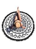 Geomertry Tassels Round Beach Mat Yoga Mat