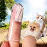 5pcs Soft Finger Brush Pet Toothbrush Plush Dog Plus Bad Breath Dental Care Tartar Dog Cat Cleaning Pet Supplies Dog Toothbrush