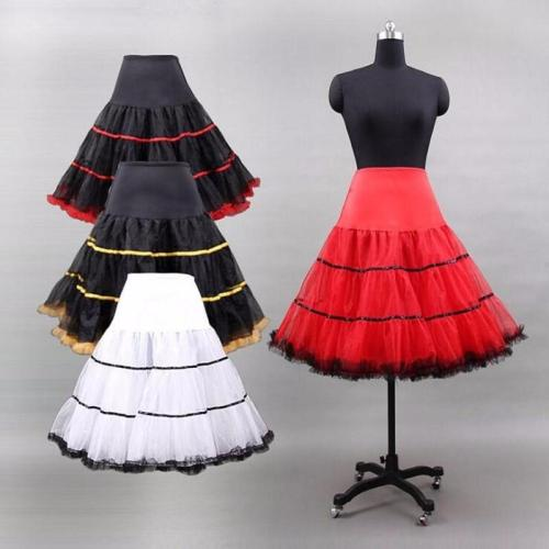 Halloween Tutu Petticoat Crinoline Vintage Wedding Bridal Petticoat for Wedding Dresses Underskirt Rockabilly 2020