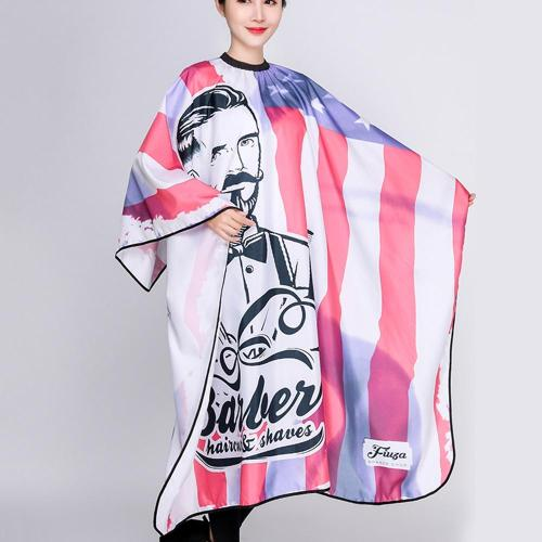 New Barber Haircut Gown Breathable Hairdressing Cloth Apron Polyester Hair Styling Design Supplies Salon Gowns Cape