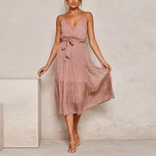 Floral Sling Fashion Elegant Midi Casual Dress
