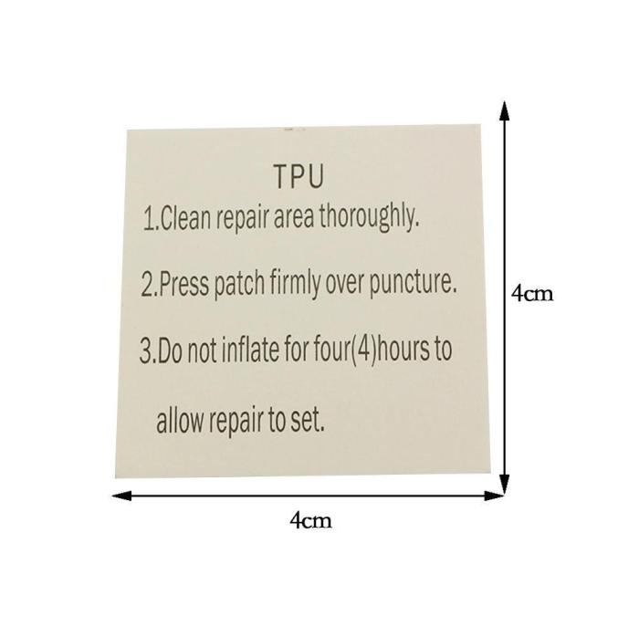 10pcs Swimming Float Repair Kit PVC Puncture Repair Patch Glue Kit Adhesive For Inflatable Toy Pools Float Air Bed Dinghies