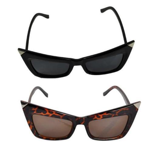 Retro Lady Cat Eyes Sunglasses Glasses Shades Vintage Style