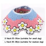 11 styles Dog Bibs Cat Scarf  Bandana Bibs Cute Accessories For Small Medium Dogs Adjustable Pet Neckerchief Scarf Neck Collar L