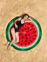 Sweet Water Mellon Vacation Round Scarve Shawl Beach Mat
