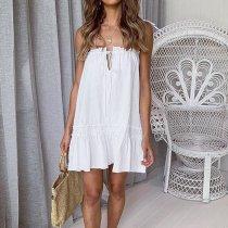 Fashion Off Shoulder Casual Dress