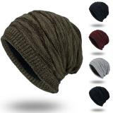 Men's Womens Knit Baggy Beanie Oversize Winter Warm Hat Ski Slouchy Thick Cap