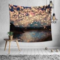 Plant Printing Polyester Tapestry 3D Digital Wall Hanging Tapestries Carpet Yoga Mat Beach Picnic Throw Rug Blanket 150cmx200cm