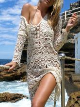 Knitting Hollow Bikini Cover-up Swimwear