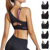 EBUYTIDE Yoga Bra Women Tops Sportswear Female Fitness Brassiere Cotton Breathable Active Wear Sports Underwear Women Padded Push Up Bra