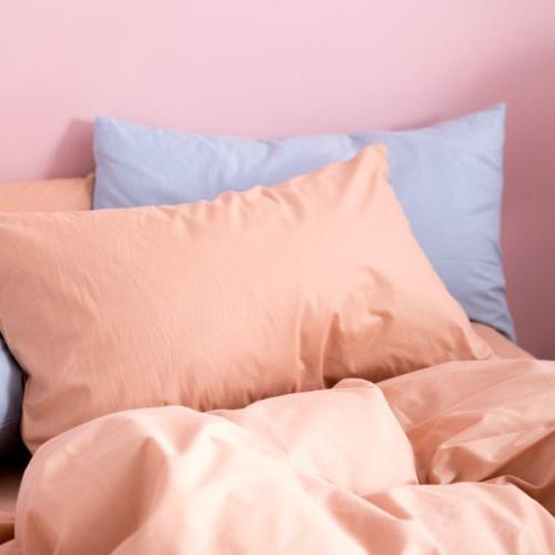 Cotton Pillowcase Plain Tabby