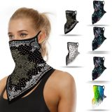 3D Outdoor Bandana Outdoor Dust-proof Mouth Protect Scarf Magic Neck Gaiters Cosplay Animation Bandana Hiking Scarves 2020