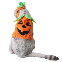 Halloween Party Pet Pumpkin Costume For Dogs Cats Clothes For Small Dogs Coats Jackets Funny Dressing Cosplay
