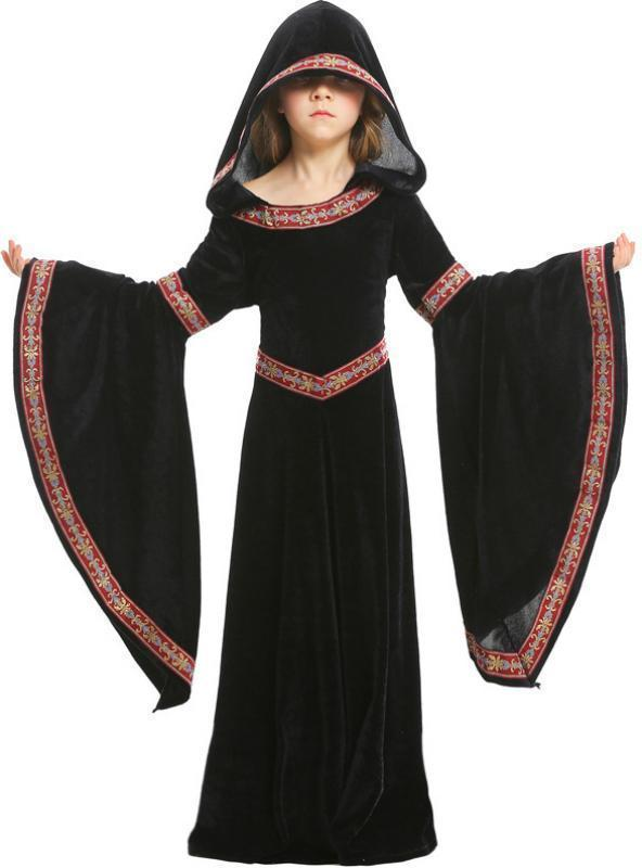 Europe's 15 Middle Ages Costumes Halloween Girl Dress