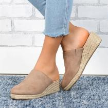 Women Comfortable Wedge Slippers