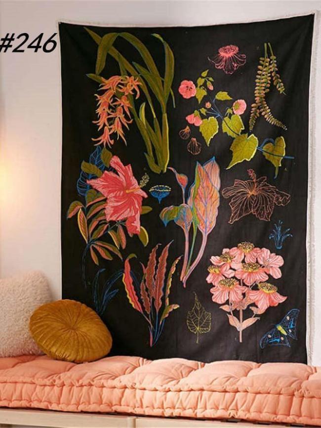 General-purpose Floral Printed Blanket