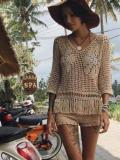 Beach Crochet Solid Short Bottom