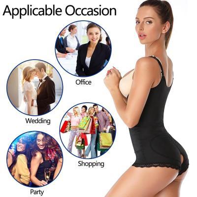 Slimming Belt Fajas Tummy Shaper Corrective Underwear Waist Trainer Full Body Shapewear Butt Lifter Reductive Belly Strip Women