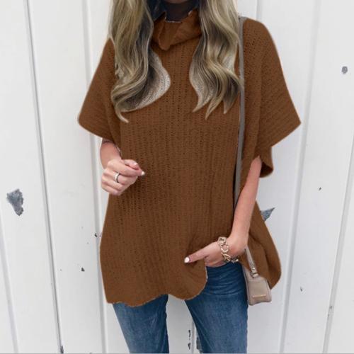 Casual Short Sleeve Loose Big Size Knitwear
