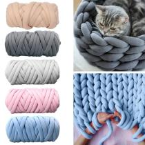 500g thick super Bulky chunky yarn for hand knitting Crochet soft big cotton DIY Arm Knitting Roving Spinning yarn for blanket