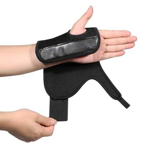 Yosoo Wrist Brace Breathable Neoprene Night Sleep Splint Adjustable Brace Health Care Hand Care Braces Supports