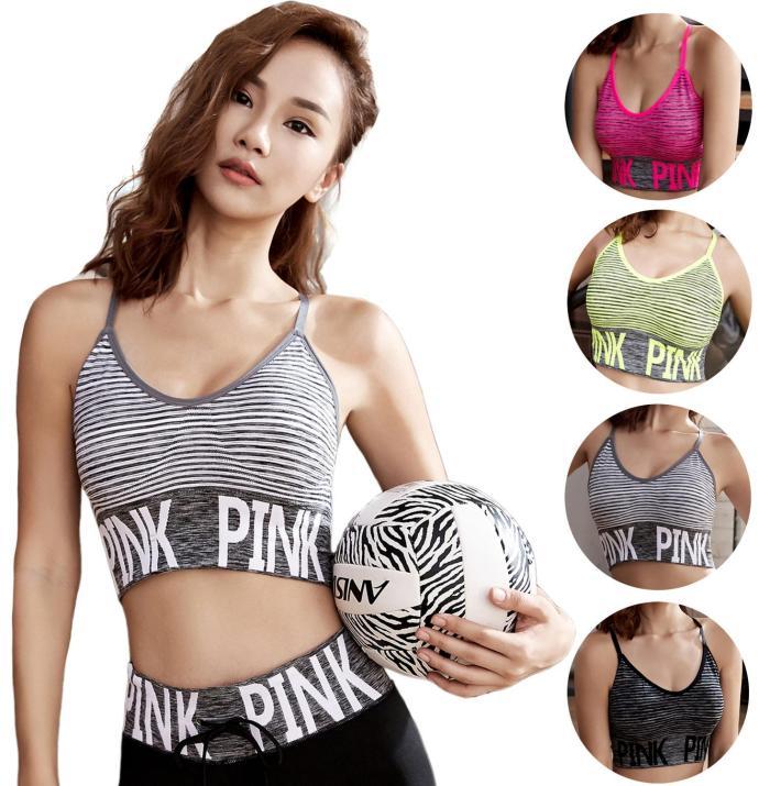 EBUYTIDE Women Sport Bra Fitness Women Sportswear Wireless Seamless Bra Soft Brassiere Underwear Breathable Exercise Yoga Tops Women