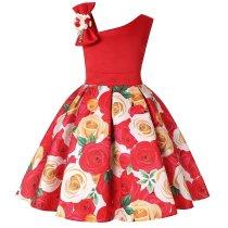 Christmas Flower Girls Dresses Kids Formal Dress