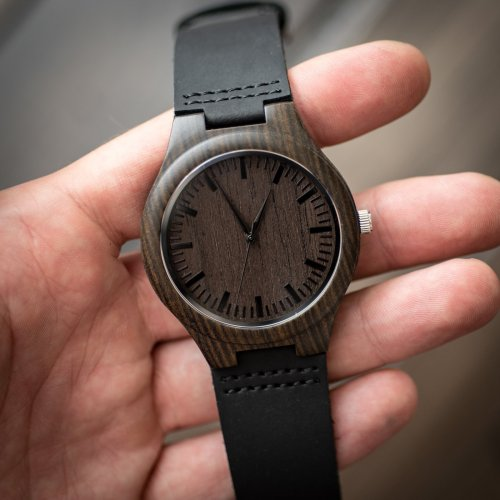 wooden watch to my son - personalized gifts