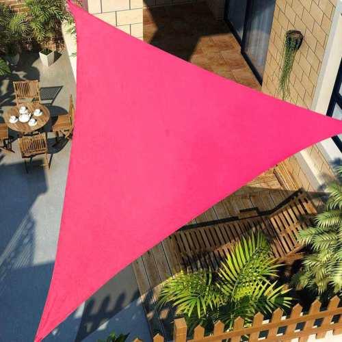Triangle Shade Sail Waterproof Triangle Triangle Canopy Garden Shade Sail (3x3m/4x4m/6x6m )