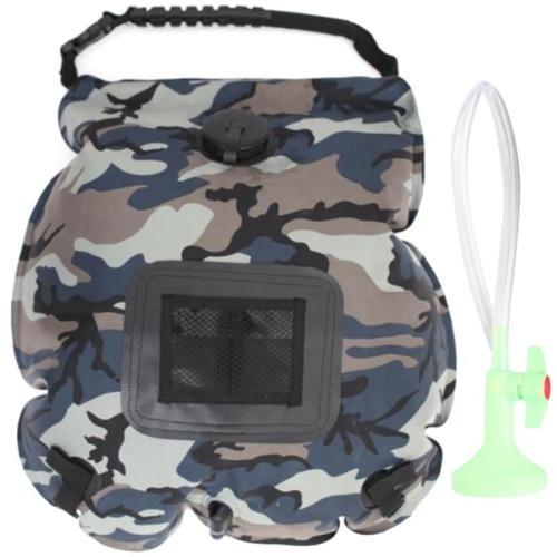 20L Camping Shower Bag Shower Bag Bathing Bag for Outdoor Traveling Hiking